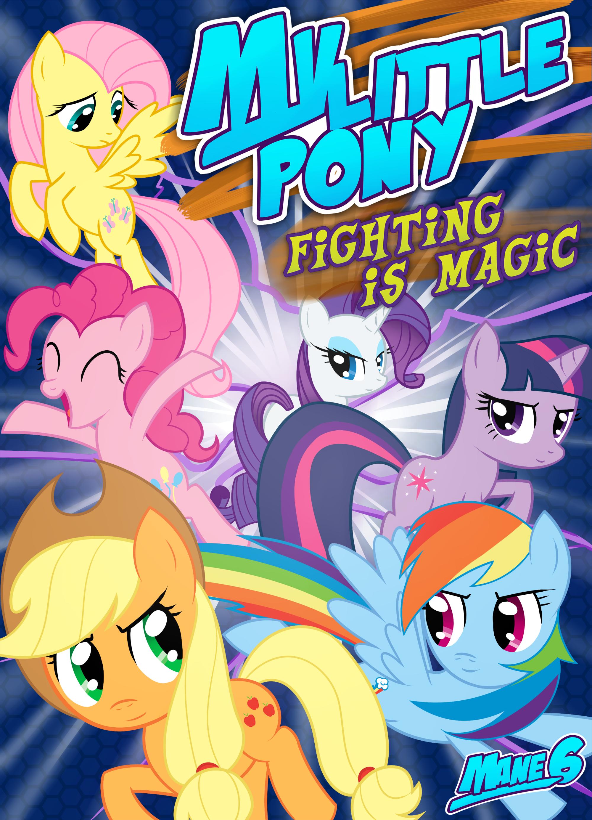 My Little Pony Fighting