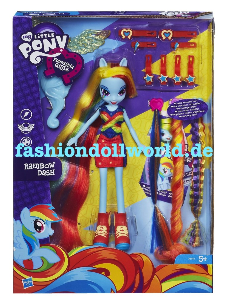 Rainbow Dash bambola di Equestria Girls