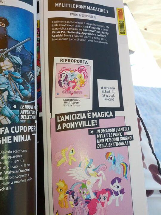 Annuncio magazine MlP