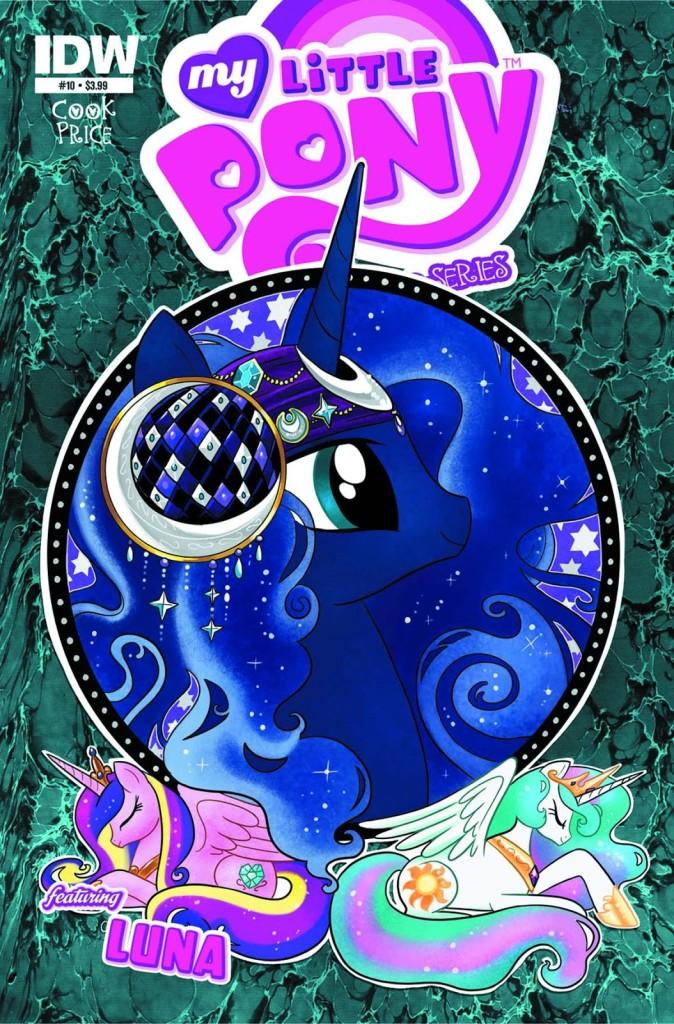 My Little Pony IDW Micro Comic Luna