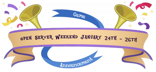 open_server_weekend_january_24_26