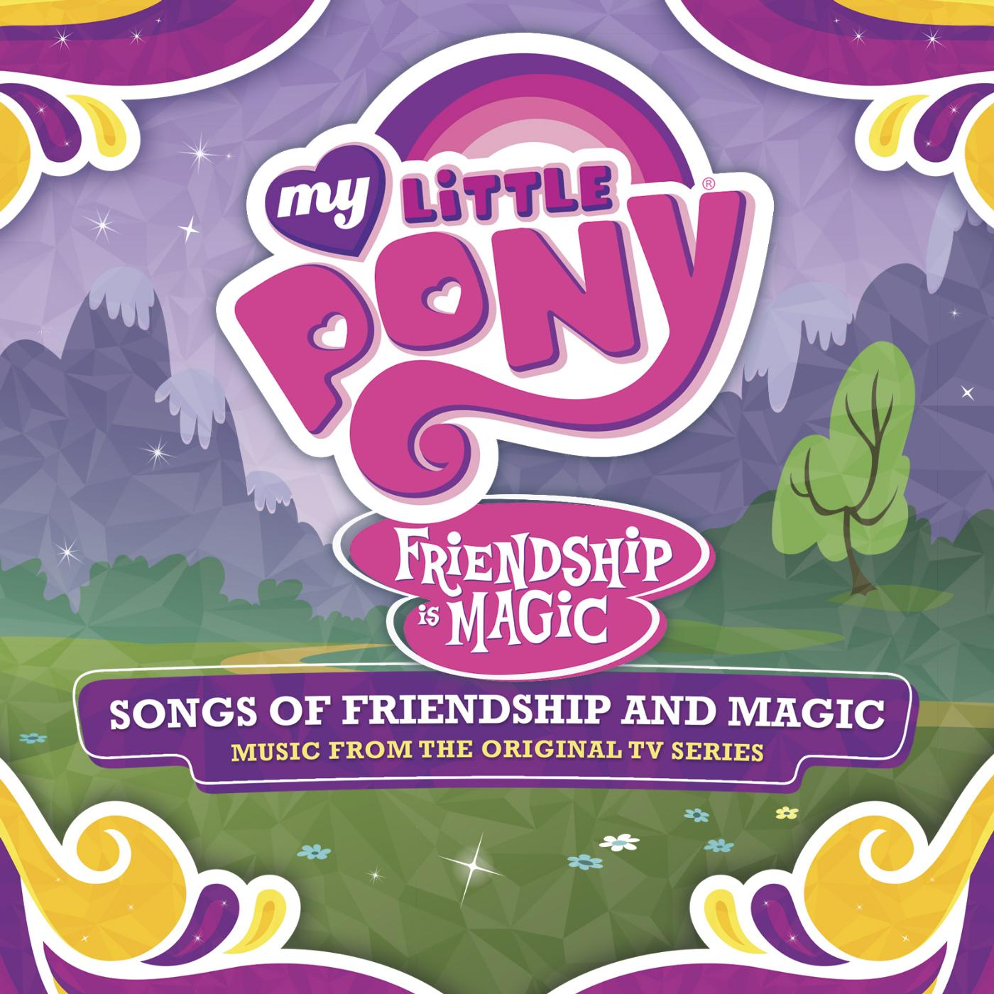 Songs of friendship and magic CD cover