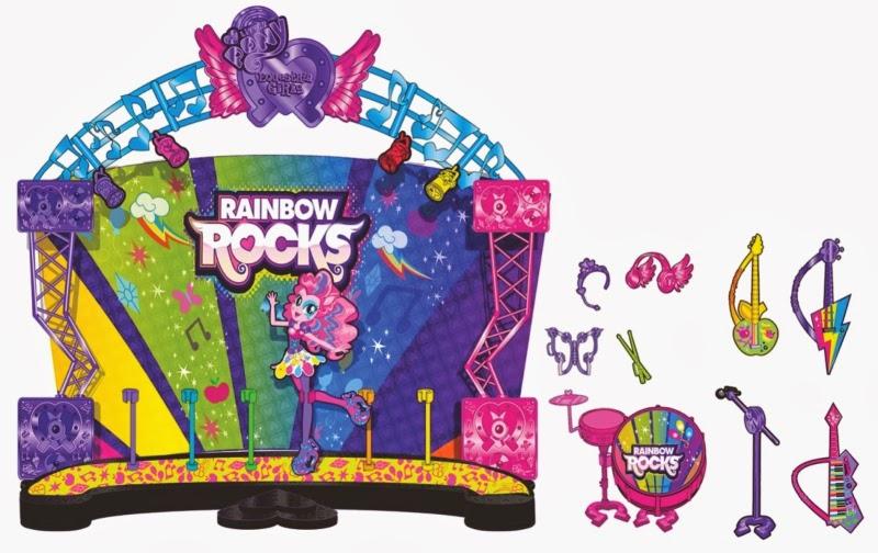 poupée my little pony rainbow rock