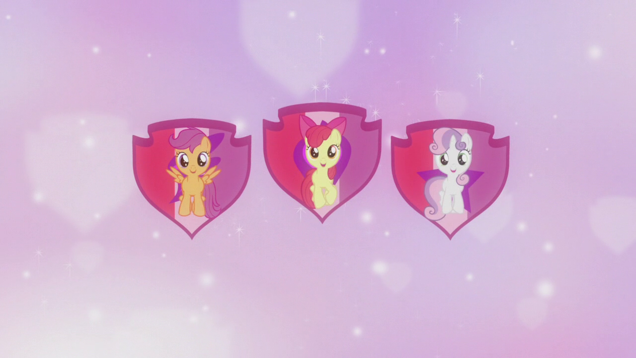 Crusaders_on_shield_cutie_mark_backdrop_S5E18
