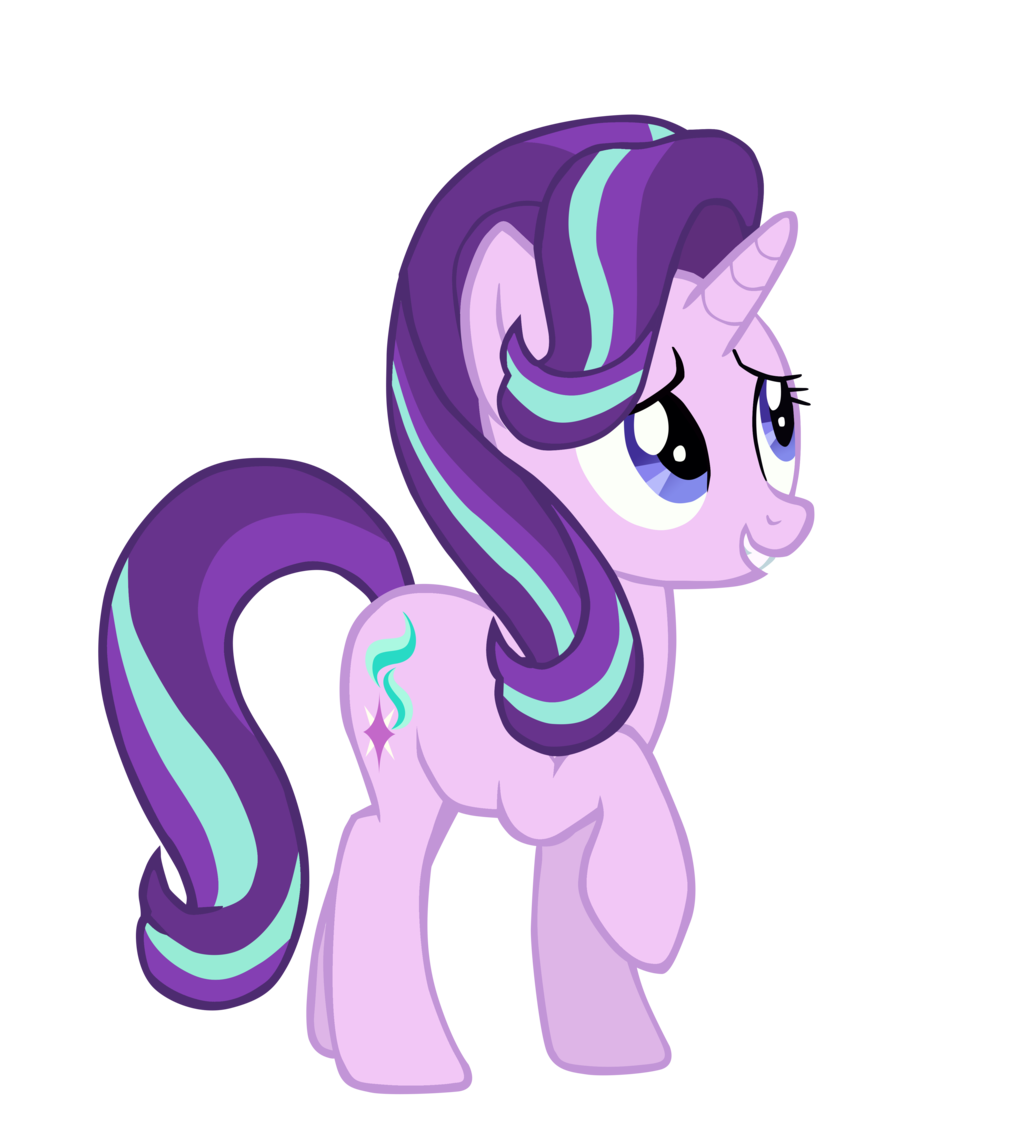 my little pony hair style stagione 6 pagina 9 cutie crusaders la comunit 224 4368 | starlight glimmer season 6 mane style mlp vector by midnaskies d9wpayt