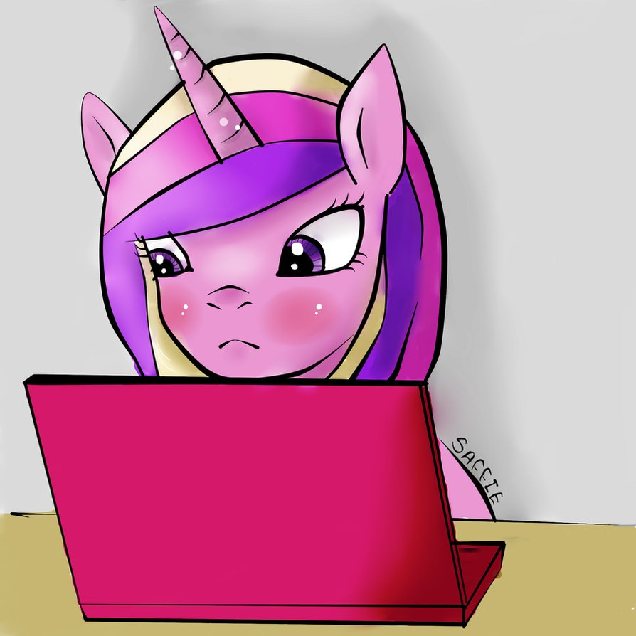 mlp__cadence_on_the_laptop__finished__by_saffie_chan-d59auau