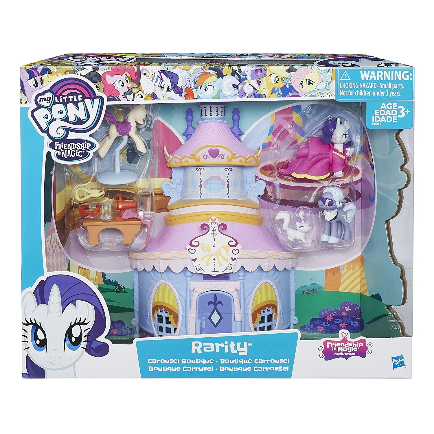 Friendship is Magic Collection Rarity Edition MLP Rarity Botique 2
